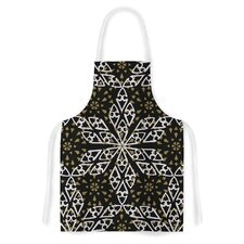 Ethnical Snowflakes by Miranda Mol Artistic Apron
