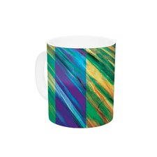 Set Stripes II by Theresa Giolzetti 11 oz. Ceramic Coffee Mug