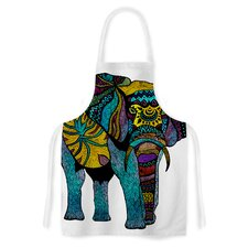 Elephant of Namibia by Pom Graphic Design Artistic Apron