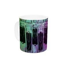Paint Tubes II by Theresa Giolzetti 11 oz. Ceramic Coffee Mug