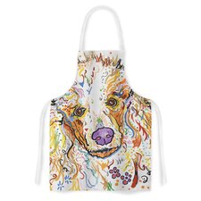 Lily by Rebecca Fischer Poodle Artistic Apron