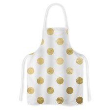 Scattered Gold  by KESS Original Metallic Artistic Apron