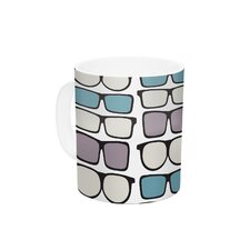 Spectacles Geek Chic by Michelle Drew 11 oz. Ceramic Coffee Mug