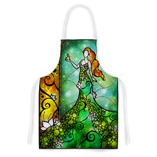 Fairy Tale Frog Prince by Mandie Manzano Artistic Apron