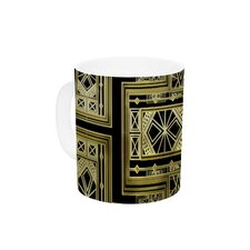 Golden Art Deco by Nika Martinez 11 oz. Ceramic Coffee Mug