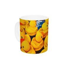 Duckies by Maynard Logan 11 oz. Ceramic Coffee Mug