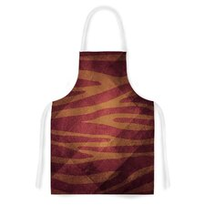 Zebra Texture by Nick Atkinson Artistic Apron