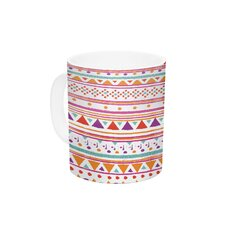 Native Bandana by Nika Martinez 11 oz. Ceramic Coffee Mug