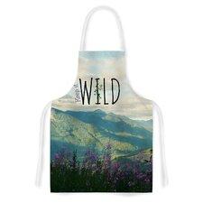 Keep It Wild Fabric Artistic Apron