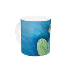 Ribbit Ribbit by Padgett Mason 11 oz. Ceramic Coffee Mug