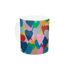 More Hearts by Project M 11 oz. Ceramic Coffee Mug