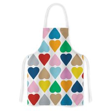 Diamond Hearts by Project M Artistic Apron