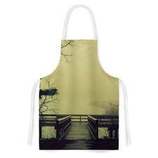 Fog on the River by Robin Dickinson Artistic Apron