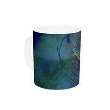Plume by Robin Dickinson 11 oz. Ceramic Coffee Mug