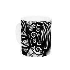 Circles and Life by Pom Graphic Design 11 oz. Ceramic Coffee Mug