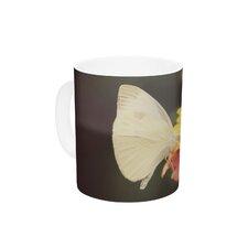 Captivating by Robin Dickinson 11 oz. Flower Ceramic Coffee Mug