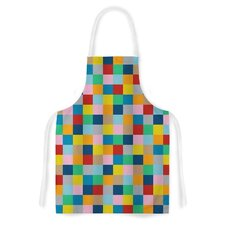 Colour Blocks Zoom by Project M Geometric Artistic Apron