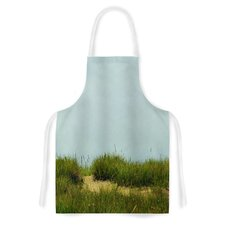 Hand in Hand by Robin Dickinson Green Artistic Apron