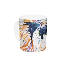 Sophia by Rebecca Fischer 11 oz. Ceramic Coffee Mug