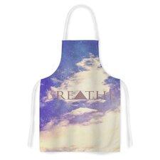 Breathe by Rachel Burbee Artistic Apron