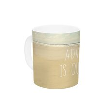 Adventure is Out There by Sylvia Cook 11 oz. Ceramic Coffee Mug