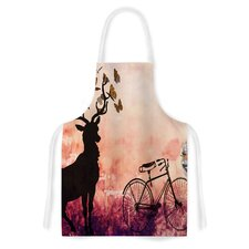 Vintage Forest by Suzanne Carter Artistic Apron