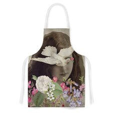 Doves Eyes by Suzanne Carter Artistic Apron