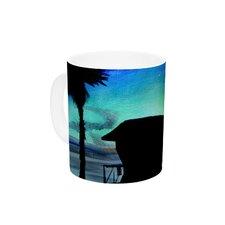 Carlsbad State Beach by Theresa Giolzetti 11 oz. Ceramic Coffee Mug