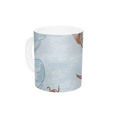 Koi by Sam Posnick 11 oz. Ceramic Coffee Mug