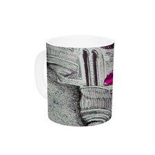 Shoes in SF by Theresa Giolzetti 11 oz. Purple Ceramic Coffee Mug