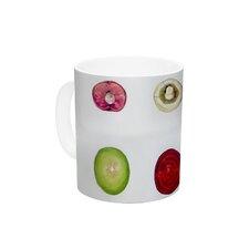 Fruit by Theresa Giolzetti 11 oz. Food Ceramic Coffee Mug