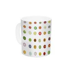 Fruit by Theresa Giolzetti 11 oz. Food Painting Ceramic Coffee Mug