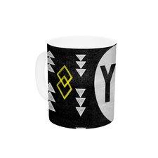 Yay by Skye Zambrana 11 oz. Ceramic Coffee Mug