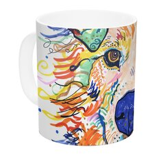 Jess by Rebecca Fischer 11 oz. Ceramic Coffee Mug