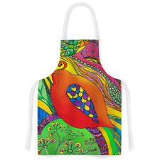 Psycho-Delic Dan by Catherine Holcombe Artistic Apron