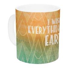 Deco II by KESS Original 11 oz. Ceramic Coffee Mug