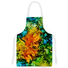 Lowry by Claire Day Green Artistic Apron