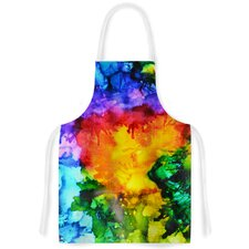 Karma by Claire Day Rainbow Paint Artistic Apron