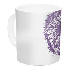Dandelion by Monika Strigel 11 oz. Flower Ceramic Coffee Mug