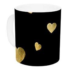 Floating Hearts by Robin Dickinson 11 oz. Ceramic Coffee Mug