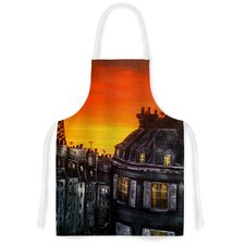 Paris by Christen Treat Artistic Apron