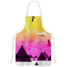 Seagulls in Shiny Sky by F eric Levy-Hadida Artistic Apron