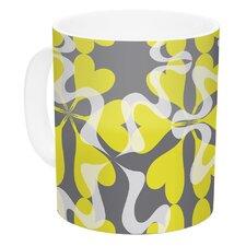 Flowering Hearts by Miranda Mol 11 oz. Ceramic Coffee Mug