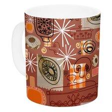 Vintage Kitchen by Jane Smith 11 oz. Ceramic Coffee Mug