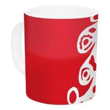Noble Pine by Miranda Mol 11 oz. Holiday Ceramic Coffee Mug