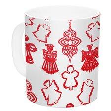 Angels Singing by Miranda Mol 11 oz. Holiday Ceramic Coffee Mug