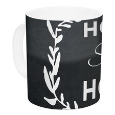 Home Sweet Home by KESS Original 11 oz. White Ceramic Coffee Mug