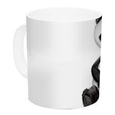My Panda Sketch by Geordanna Cordero-Fields 11 oz. White Ceramic Coffee Mug