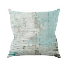 Bluish by Iris Lehnhardt Cotton Throw Pillow