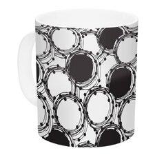 Beaded Bangles by Nandita Singh 11 oz. White Ceramic Coffee Mug